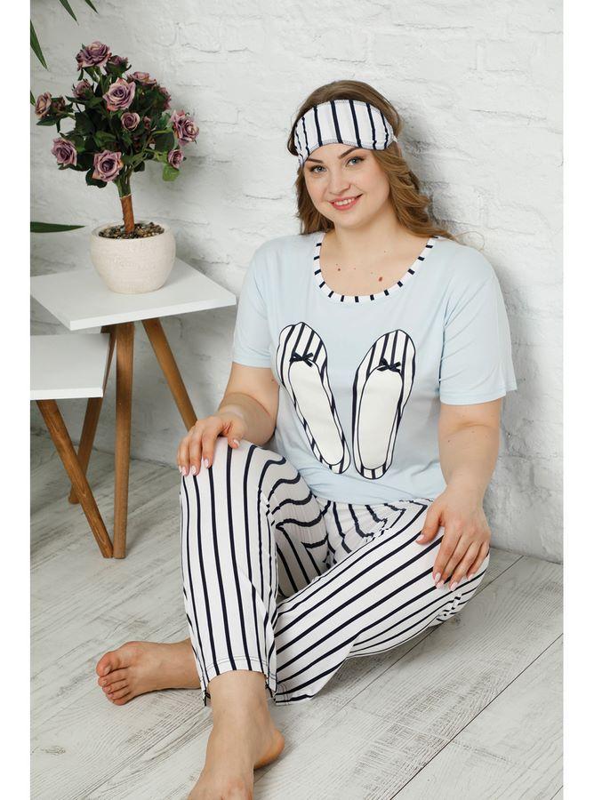 3410T Battal pijama tk