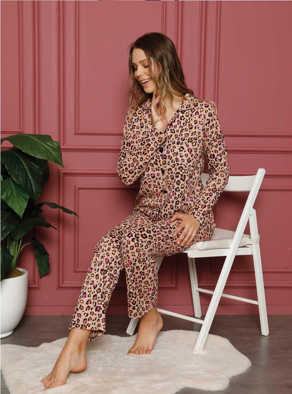 2035p Bayan Pijama Takım