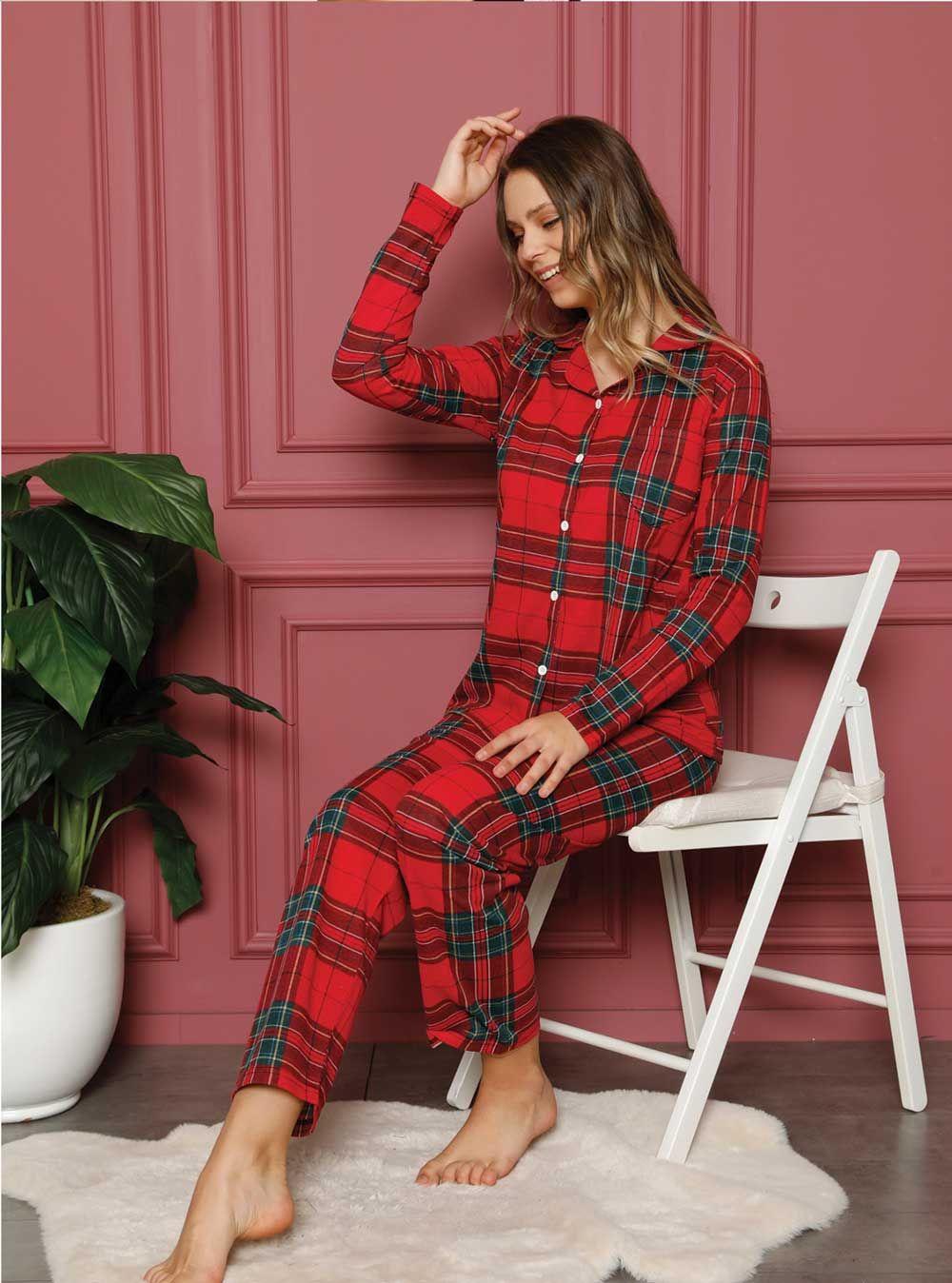 20356P Bayan Pijama Takım