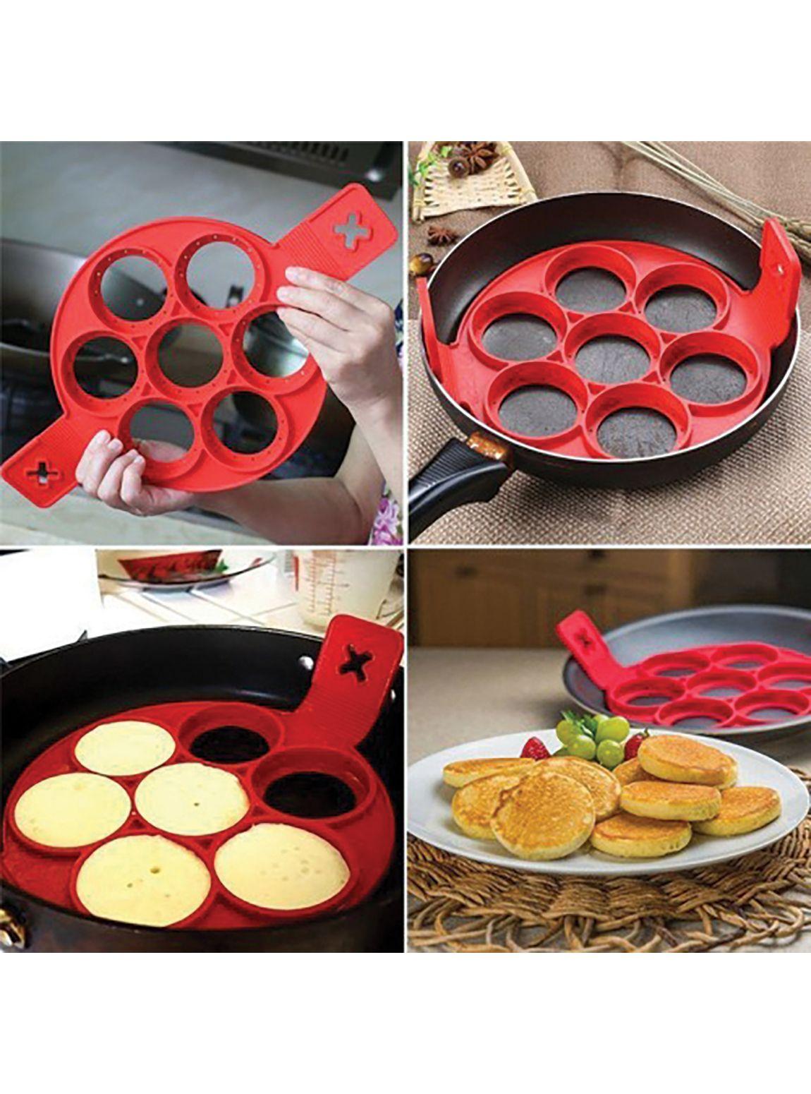618MR Yanmaz Silikon Krep,Pankek Pişirme Kalıbı